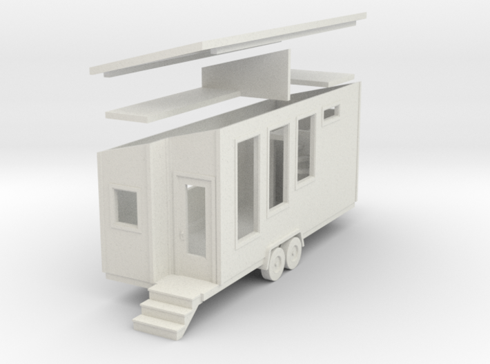 Tiny House #77 - 1:87 Scale Miniature 3d printed