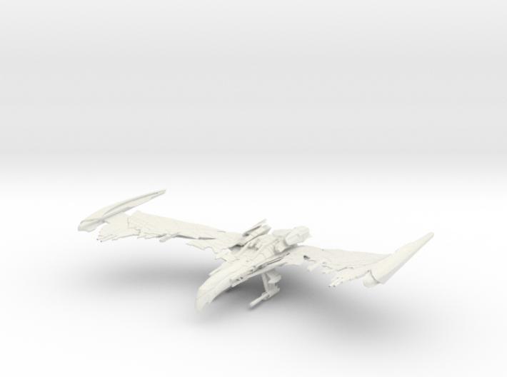 Romulan Winged Defender Class VI WarBird 3d printed