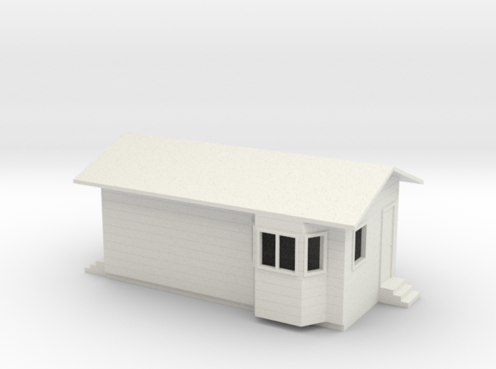 1/64 Truck Scale House 3d printed