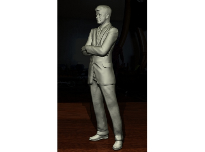 SE JFK figure 3d printed