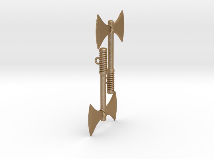 Labrys (Double Axe) Feminist Symbol Earrings 3d printed