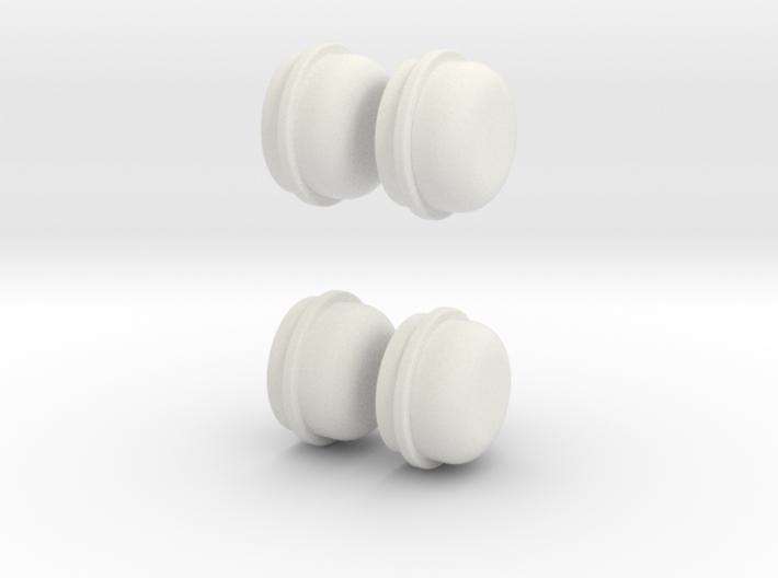 wheel-cap-set-6-mm-depth 3d printed