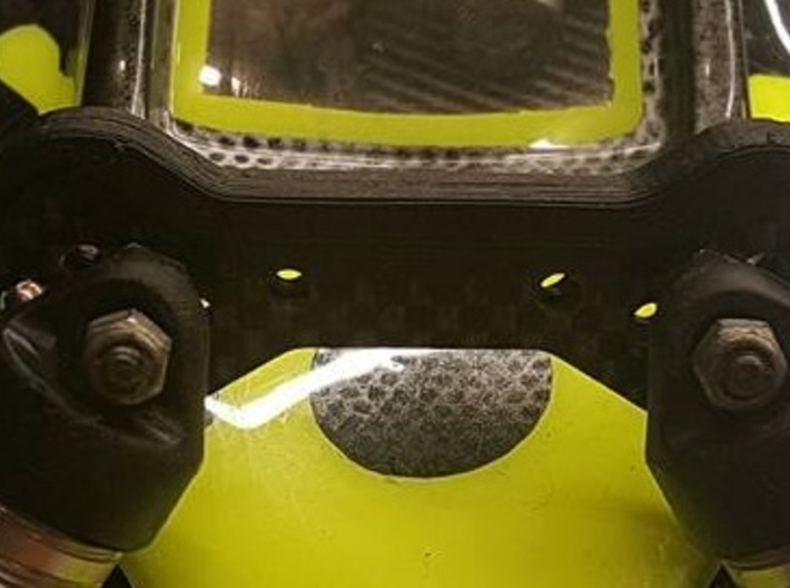 XRAY XB2 Front shock tower cover 3d printed