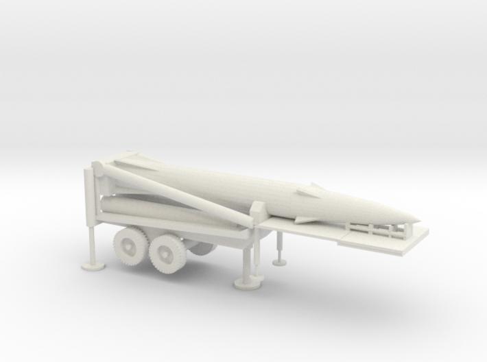 1/87 Scale Pershing II Missile Erector 3d printed