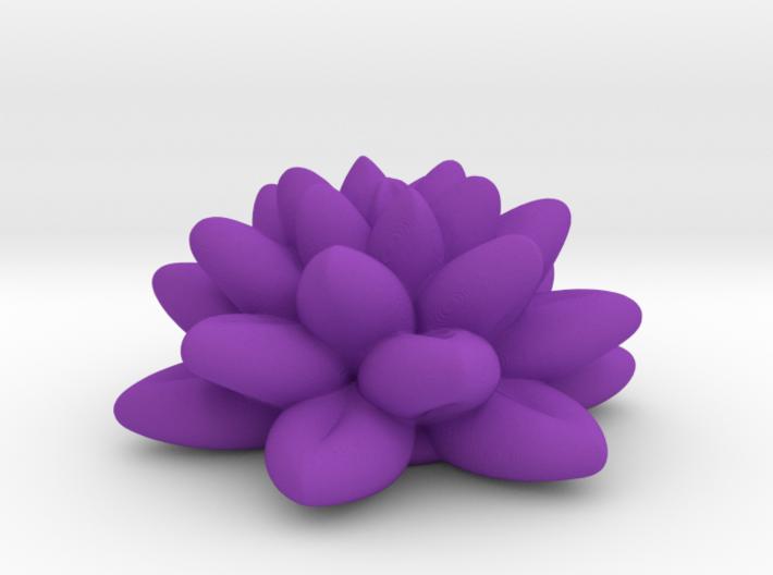 Fractal Flower 06 Redux 3d printed
