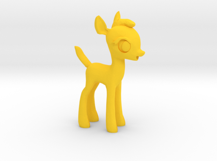 "My Little OC: Faun 3.5"" 3d printed"
