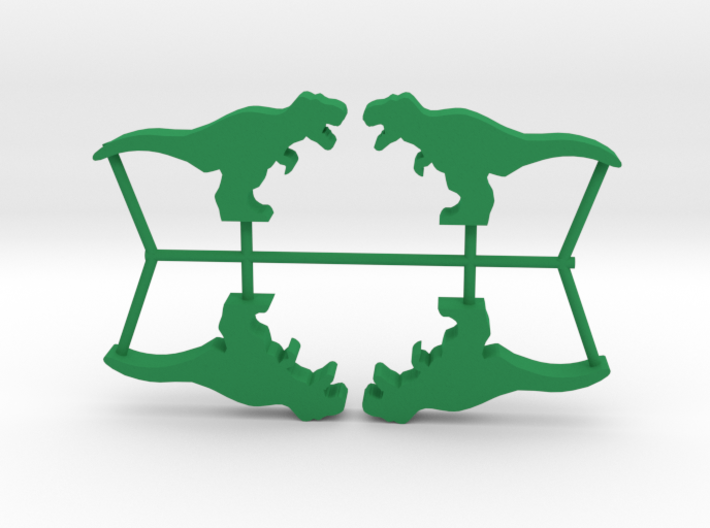 Dino Meeple, T-Rex 4-set 3d printed