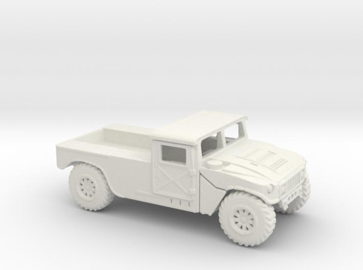 1/87 Scale HMMWVC 3d printed