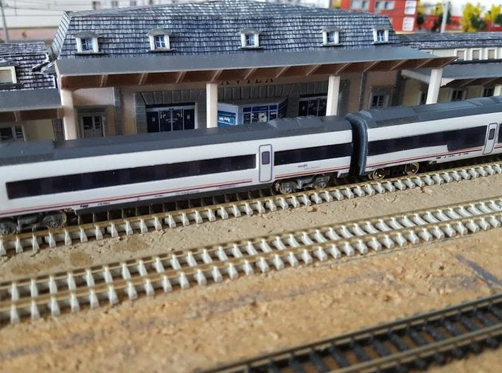 599 Renfe coche extremo SW 3d printed