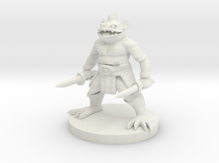 Kuo-Toa Warrior 3d printed