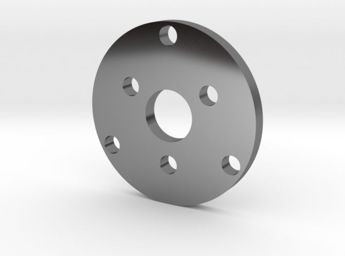 R type Small Chassis disk 3d printed