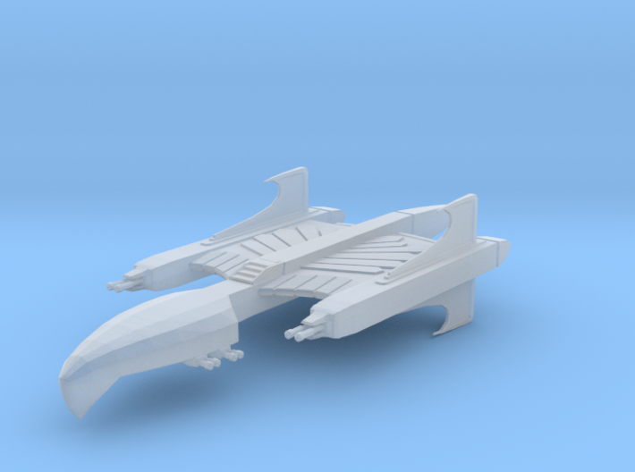 CR Centurion Attack Cruiser Full Thrust Scale 3d printed