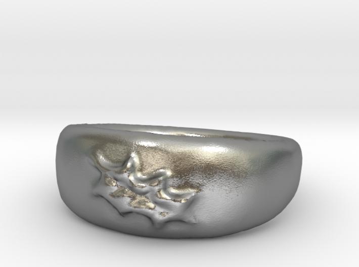 Leaf Ring sz8 3d printed