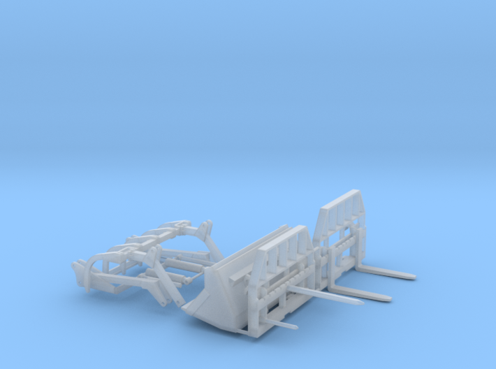 1/64 Loader Attachments 3d printed