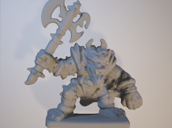 HeroQuest FrozenHorror 28mm heroic scale miniature 3d printed