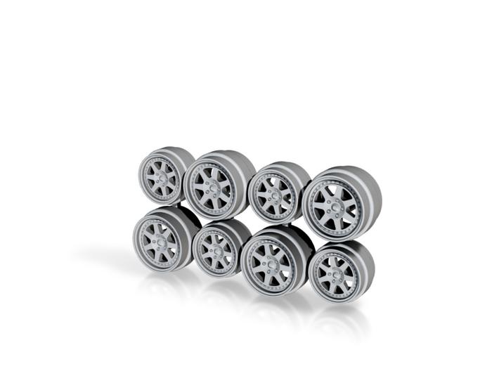 NSX Spec Mugen M7 Hot Wheels Rims 3d printed