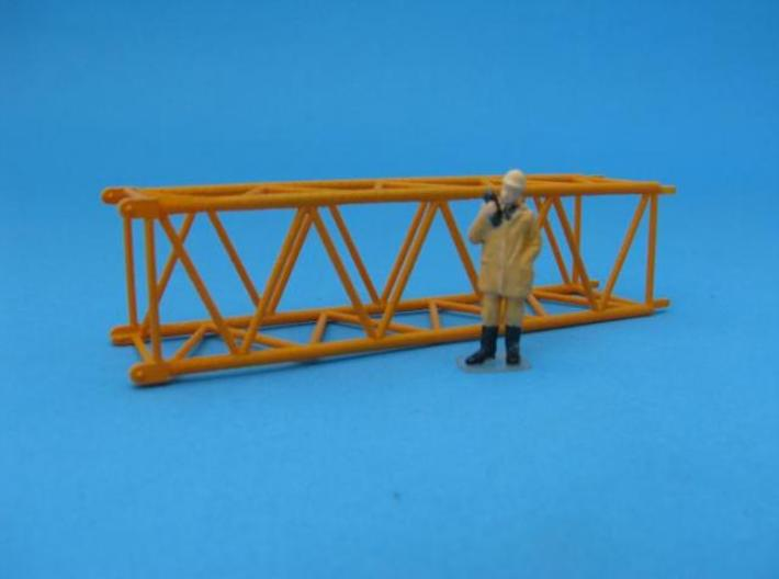 HO/1:87 Crane boom segment 17x17 3d printed Painted (figure not included)