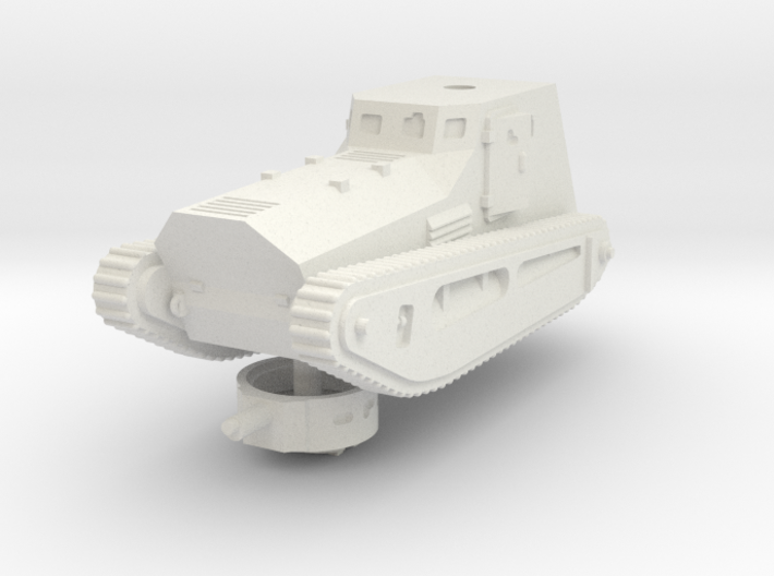 1/72 LK-II light tank 3d printed