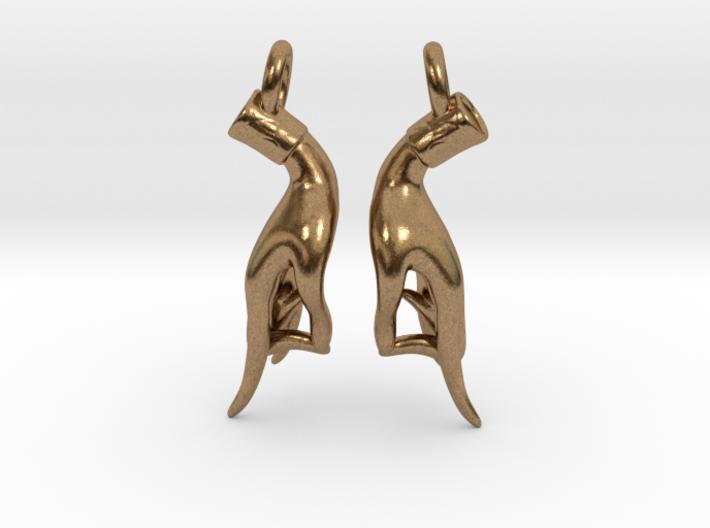 Karana Mudra V1 Earrings 3d printed
