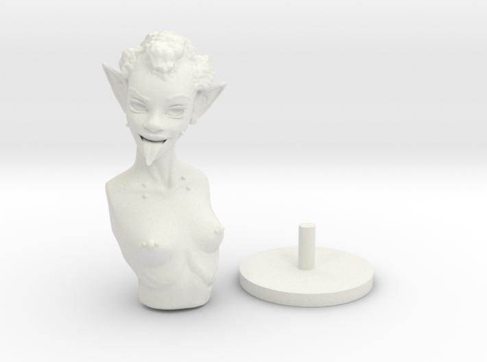 Goblin Bust 3d printed