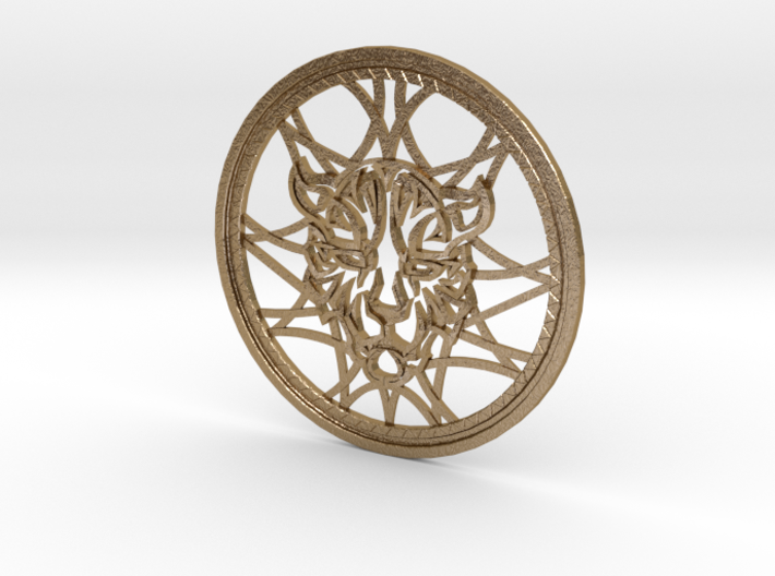 Kingdom Hearts Leopardus Celtic Knot Medallion 3d printed