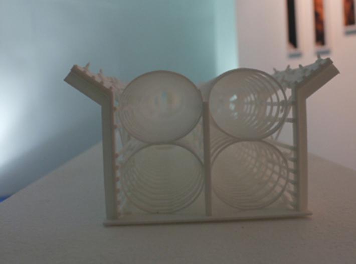 India - Bangladesh Fence 3d printed