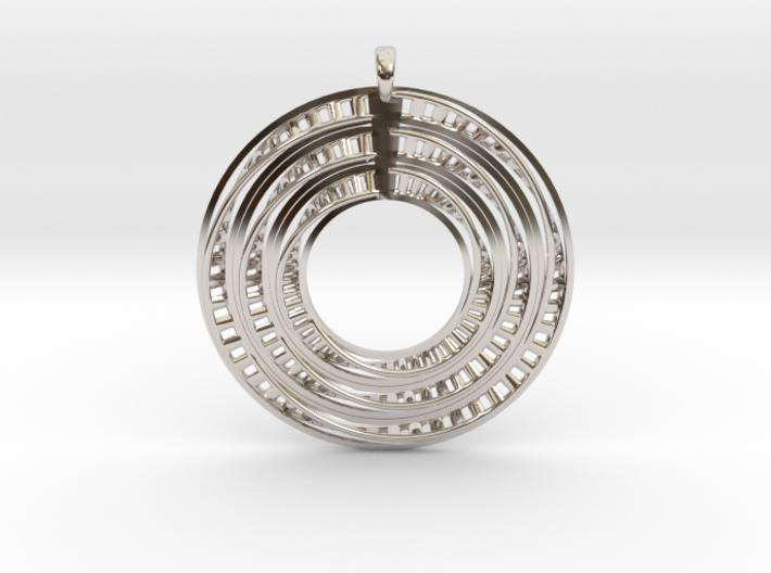 Genetical-Circle 3d printed