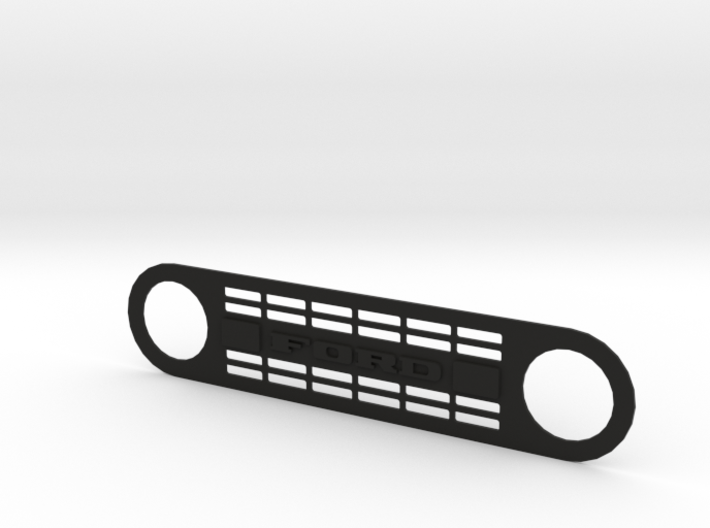 Ford Bronco grill by TrailScaleRC 3d printed