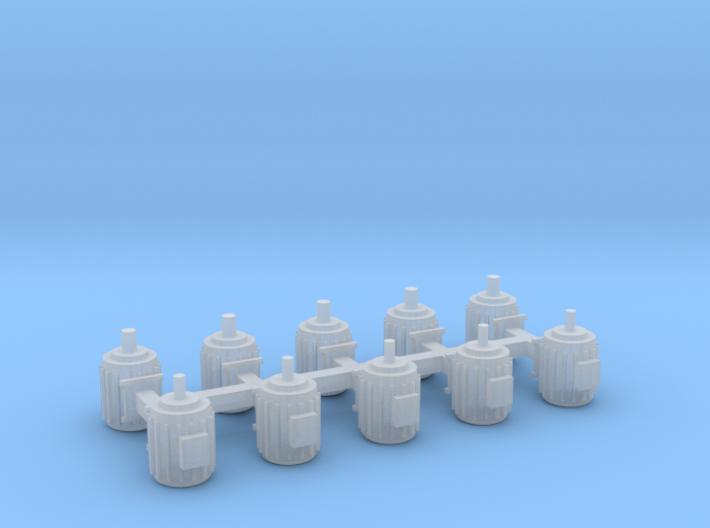 Elektromotoren Größe A 10er Set - 1:87 H 3d printed
