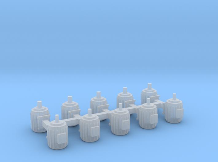 Elektromotoren Größe C 10er Set - 1:87 H0 3d printed