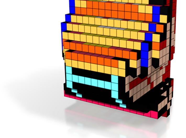 8-bit cutout (Donkey Kong) 3d printed