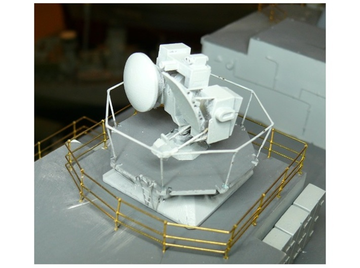 Type 911 Seawolf Tracker Radar kit x 1 1/72 3d printed