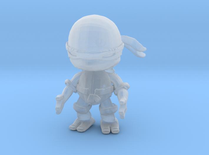 1/60 Ninja Turtle Miniature 3d printed