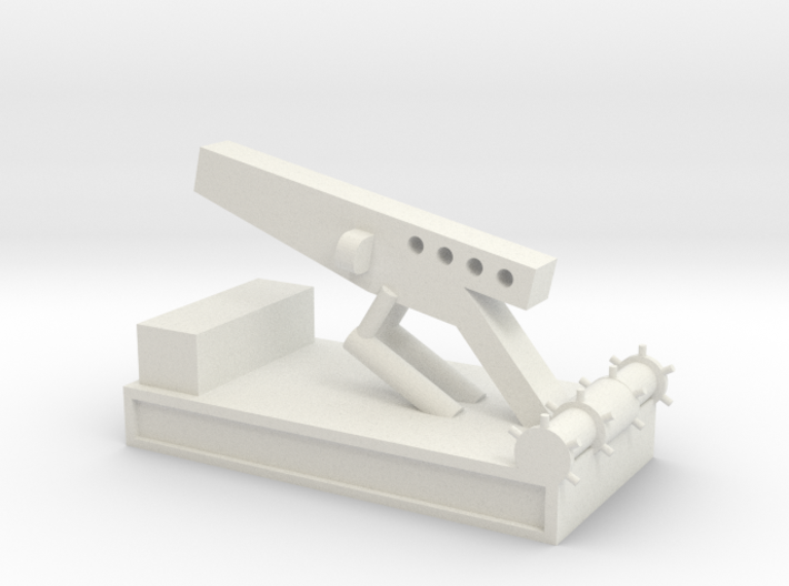 1/144 Scale Nike Launch Pad 3d printed