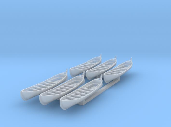 US Navy 30ft sailing whaleboat 1/350 3d printed