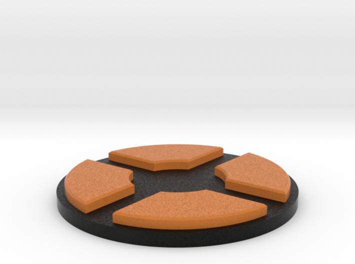 TF2 logo pedestal 3d printed
