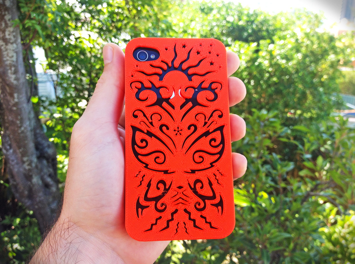 Butterfly Iphone Case 5 5s 3d printed