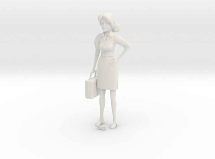 TF2 Miss Pauling Small Figurine 3d printed