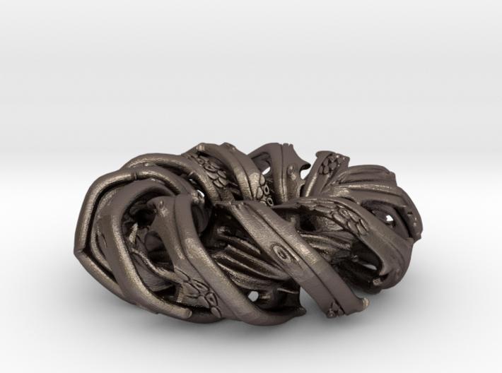 Tracheon pendant / pocket sculpture (4.2cm) 3d printed