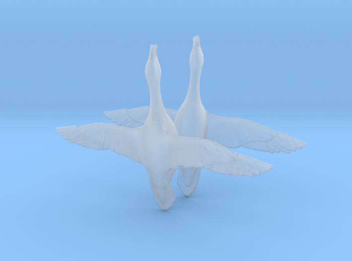 Geese Canadian Flying 3d printed