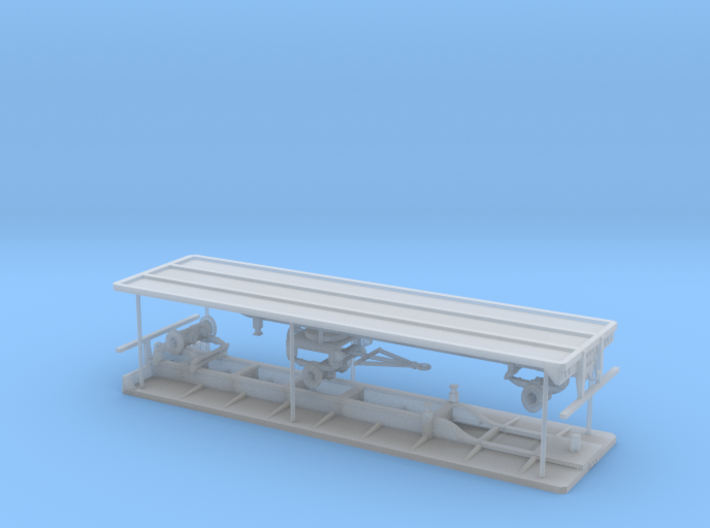 1/87th Wesco type set of Hay Flatbeds 3d printed