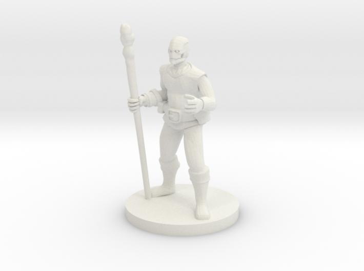 Warforged Druid 3d printed
