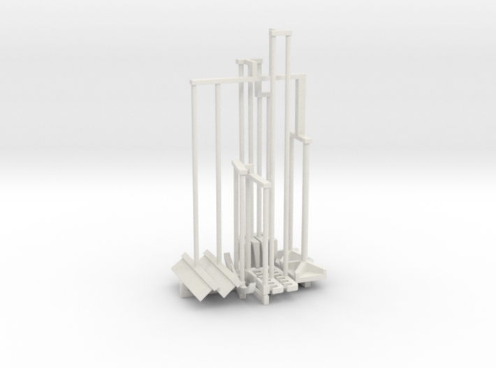 Hand Tools Set 1-25 Scale 3d printed