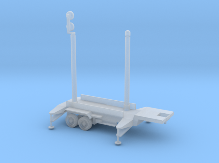1/87 Scale Patriot Missile Communication Trailer 3d printed