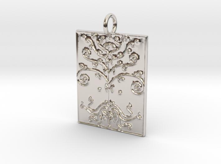 Tree of Life Veve Pendant 3d printed