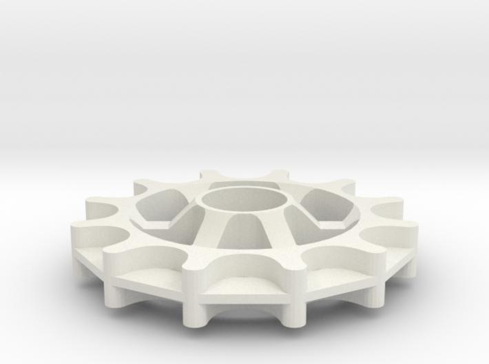 Idler for Gates Carbon Drive belt - 12T 11P 2 5x10 3d printed