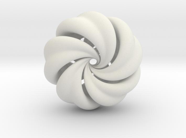 Integrable Flow (6, 5) 3d printed