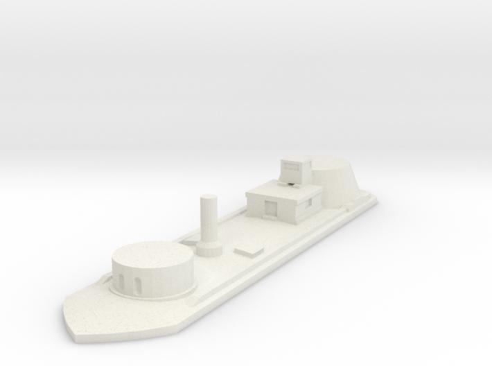 1/600 USS Osage  3d printed