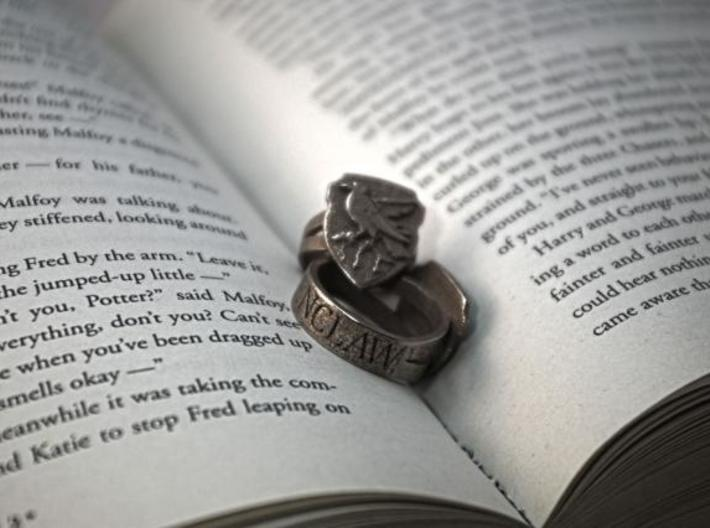 Ravenclaw Ring Size 4 3d printed Ravenclaw Ring
