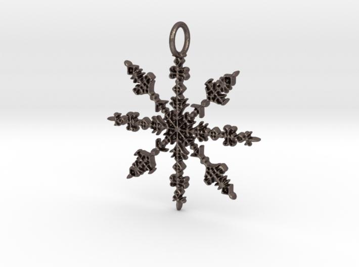 Winter Pendant 3d printed